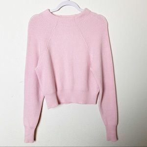 Free People Pink Too Good Pullover Sweater XS